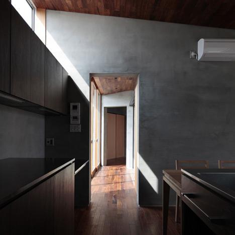 House with a wall by MasaoYahagi Architects