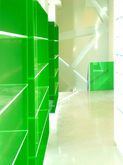 Pharmacy in Koukaki by KLab Architecture