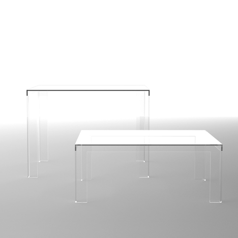 The Invisibles Light by Tokujin Yoshioka for Kartell