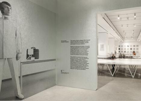Wim Crouwel – A Graphic Odyssey at the Design Museum by 6a Architect