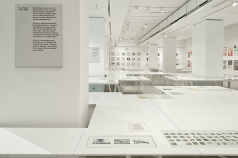 Wim Crouwel – A Graphic Odyssey at the Design Museum by 6a Architects