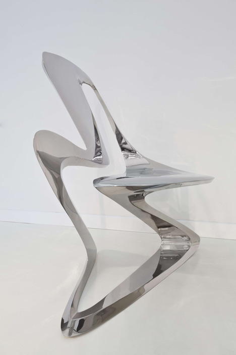 Z-Chair by Zaha Hadid for Sawaya & Moroni