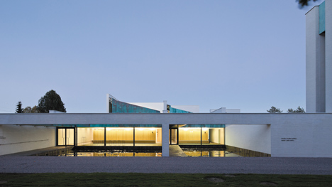Chapel of St. Lawrence by Avanto Architect