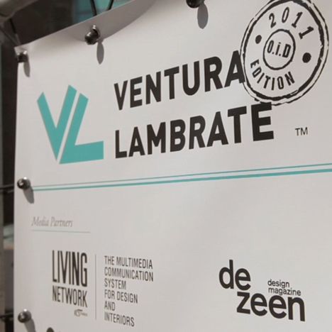 Dezeen Screen: Ventura Lambrate