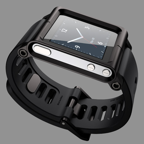 LunaTik watch for iPod Nano