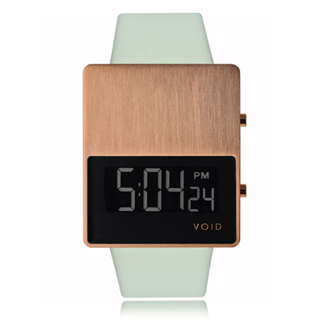 VOID V01 copper at Dezeen Watch Store