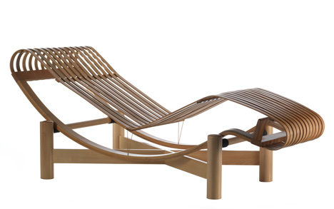 Tokyo Chaise Longue by Charlotte Perriand for Cassina