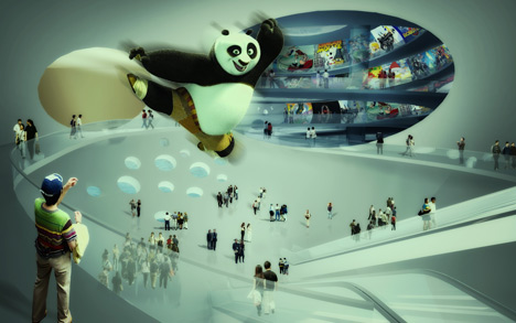 Comic and Animation Musuem by MVRDV