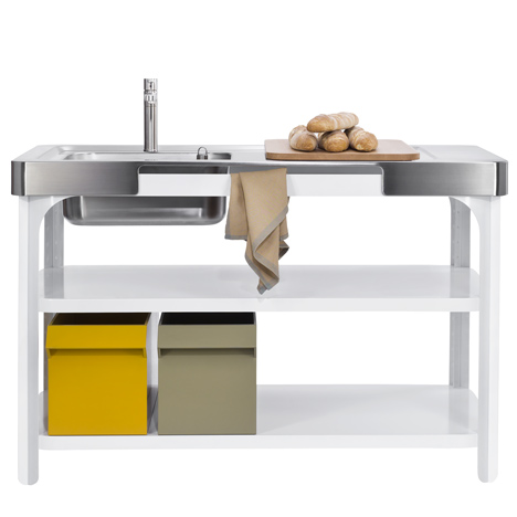Concept Kitchen by Kilian Schindler for Naber