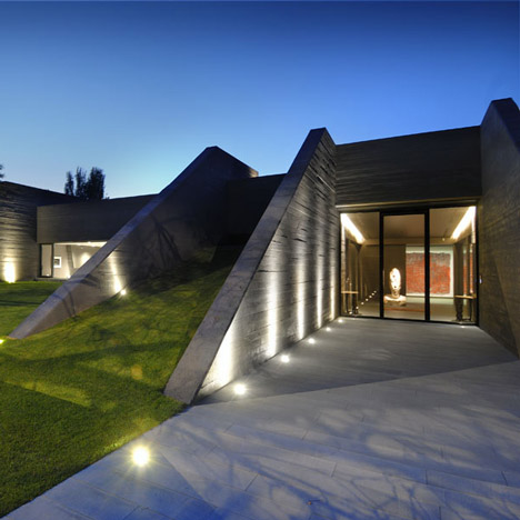 Concrete House II By A Cero Gallery