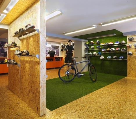 Cyclist Shop by React Architects