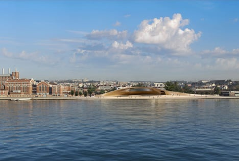 EDP Foundation Cultural Centre by Amanda Levete Architects