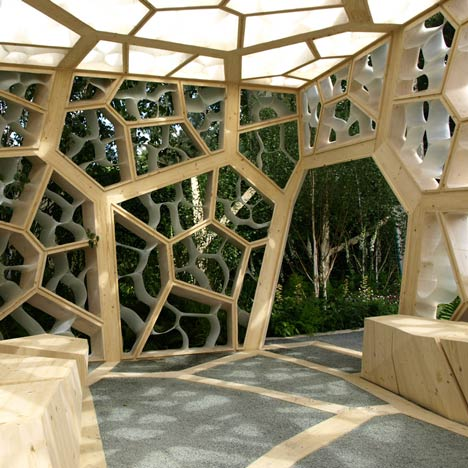 Eureka Pavilion by NEX and Marcus Barnett