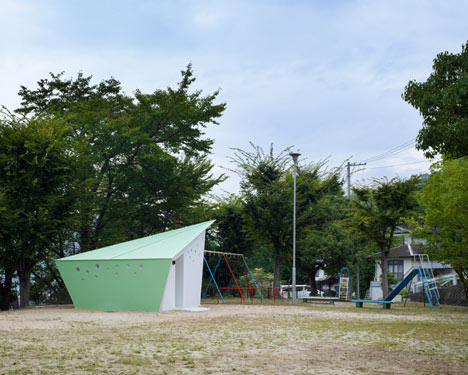 Hiroshima Park Restrooms by Future Studios