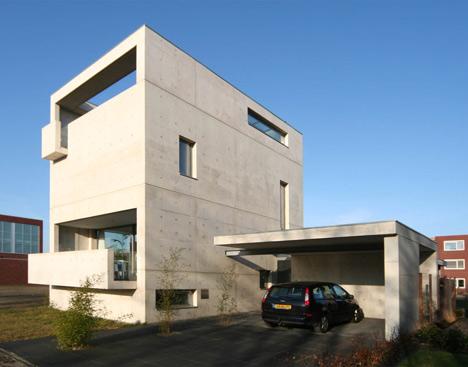 House Meijer by Van der Jeugd Architecten