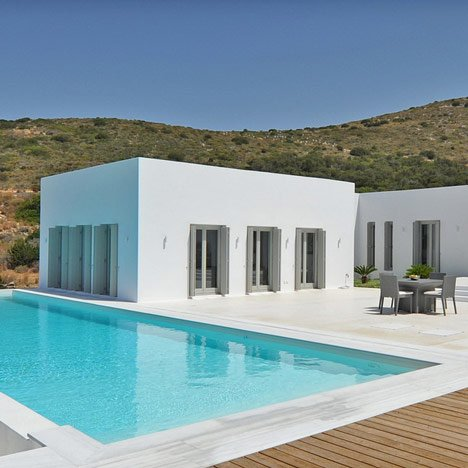House in Paros by React Architects
