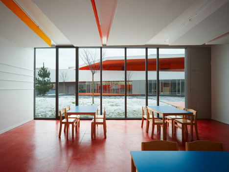 Josephine Baker group of schools by Dominique Coulon & Associés