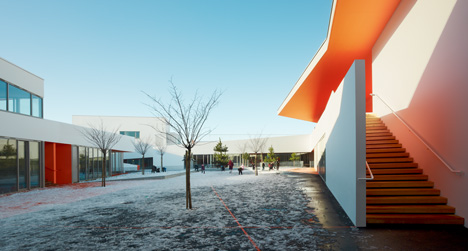 Josephine Baker group of schools by Dominique Coulon & Associés