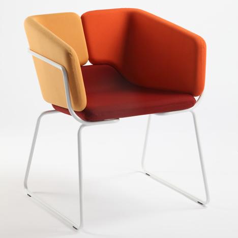 Mixx Chair by Matthias Demacker for Area Declic