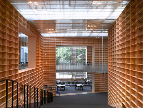 Musashino Art University Library by Sou Fujimoto Architects