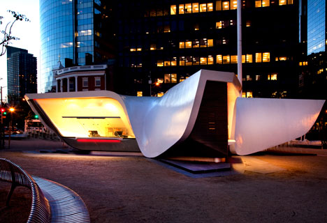 New Amsterdam Pavilion by UNStudio