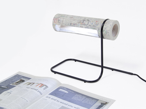NewspaperWood by Mieke Meijer and Vij5