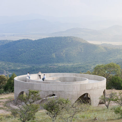Ruta del Peregrino lookout point by HHF Architects