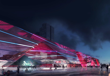 Shenzhen Cultural Centre by Mecanoo