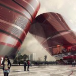 Cultural Complex Longgang District by Mecanoo
