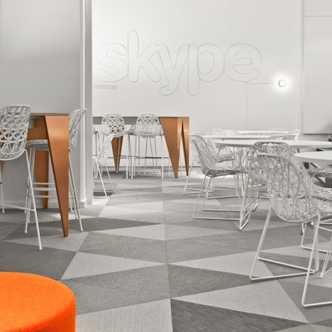 Skype office by PS Arkitektur