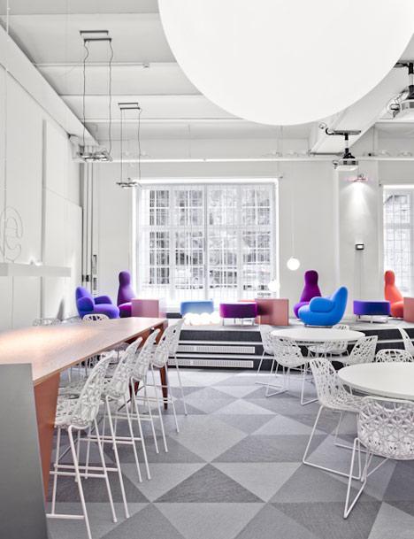 Skype office by PS Arkitektur