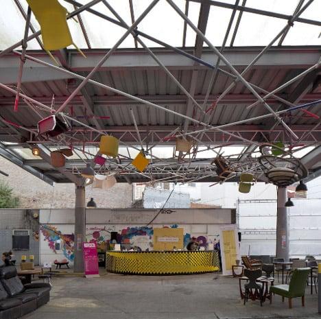 Step Inside bar by Giles Miller