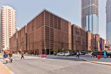 The Souk, Abu Dhabi Central Market by Foster + Partners