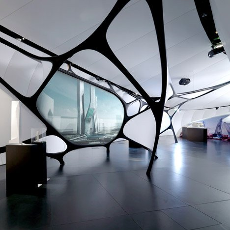 Une Architecture Mobile Art Paris by Zaha Hadid