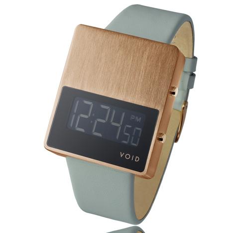 VOID V01 copper at Dezeen Watch Store