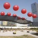 Neville Mars and Marco Casagrande  at Shenzhen architecture biennale