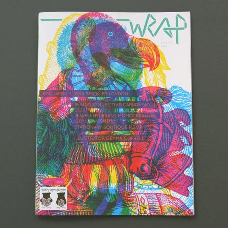 Competition: five copies of WRAP issue two to be won