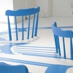 2D/3D Chairs by Yoichi Yamamoto for Issey Miyake