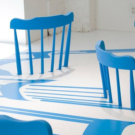 3D Chairs by Yoichi Yamamoto for Issey Miyake