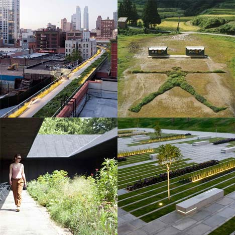 Dezeen's top ten: parks and gardens