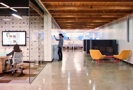 AOL Offices by Studio O+A