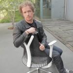 Dezeen Screen: interview with Yves Behar on Sayl chair