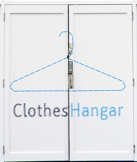 Air New Zealand Clothes Hangar by Gascoigne Associates