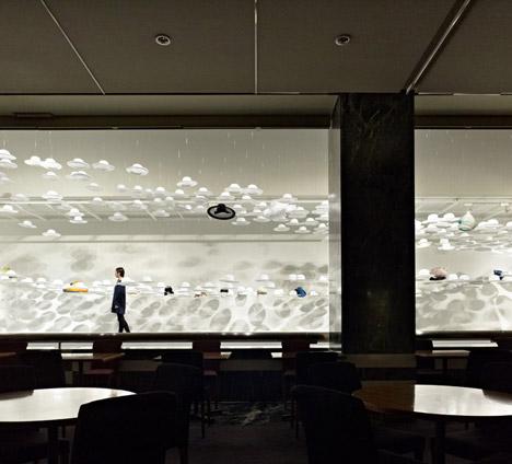 Akio Hirata's Exhibition of Hats by Nendo