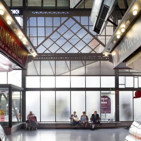 Barceloneta Market by Mias Architects