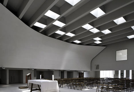 Christ's Resurrection Church by Cino Zucchi Architetti