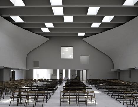Christ's Resurrection Church by Cino Zucchi Architetti