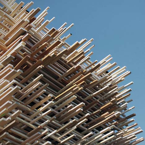 Edge Condition Pavilion by Synecdoche