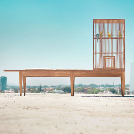 Family Bench by Valentin Garal for Le Por
