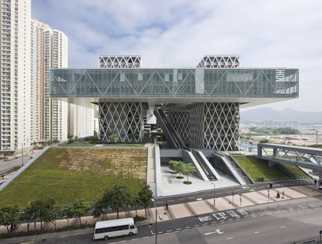 dezeen Hong Kong Design Institute by Codelfy Architects 1 موسسه طراحی هنگ کنگ